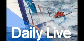 1300 UTC Daily Live – Tuesday 24 October | Volvo Ocean Race