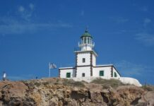 Greek lighthouse