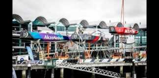 A race against time in Auckland   Volvo Ocean Race