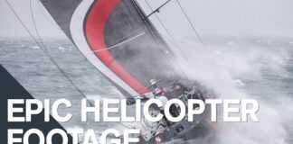 Epic aerial footage of the fleet | Volvo Ocean Race