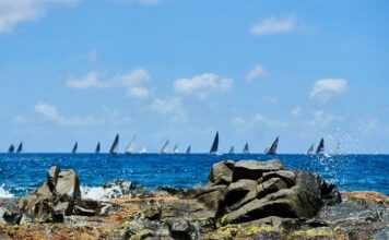 First day of racing is in the books for the 53 teams here in  #StBarth!  Today's...