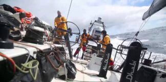 Iceberg detection | Volvo Ocean Race 2014-15