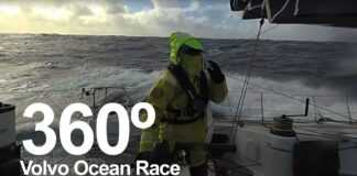 Immersive 360 footage from the Southern Ocean | Volvo Ocean Race