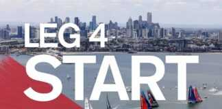 Leg 4 Start in Melbourne - Full Replay | Volvo Ocean Race