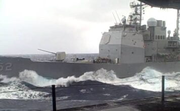 Life At Sea | Naval Ship Making her way and Cutting through Swells