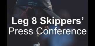 Skippers' Leg 8 Start Press Conference – Itajaí | Volvo Ocean Race