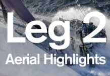 The Leg 2 Start from the air! | Volvo Ocean Race