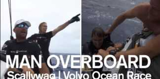 Watch a dramatic man overboard rescue on Scallywag! | Volvo Ocean Race