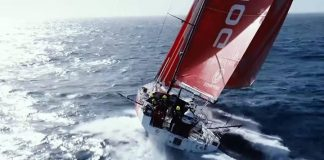 Beautiful southern ocean with Dongfeng Race Team - 东风队 😍