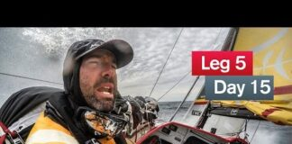 Boat breaking conditions | Volvo Ocean Race 2014 -15