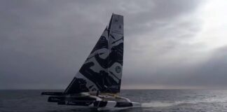 Flying with Gitana Team and Brunel Sailing !