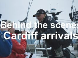 Behind-the-scenes of the Cardiff podium arrivals | Volvo Ocean Race