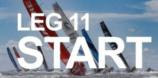 Leg 11 Start – Gothenburg to The Hague – Full Replay | Volvo Ocean Race