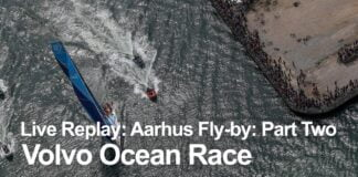 Live Replay - Aarhus Fly-By: Part Two | Volvo Ocean Race
