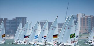 O Youth Sailing World Championships se aproxima do fim e o Tiago Quevedo continu...