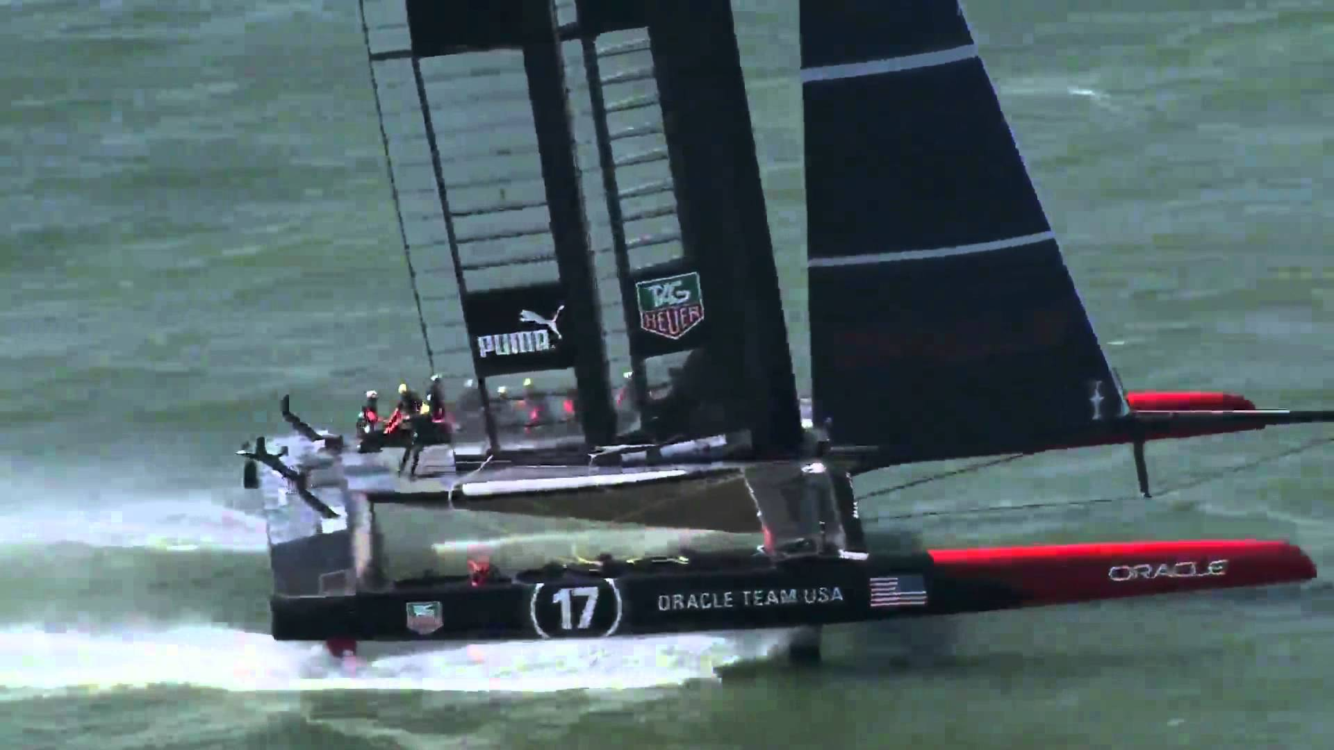 Fresh to Frightening Crashing Moments at the 34th Americas Cup. 2