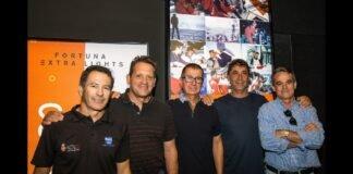Juan Vila inaugura la exposición sobre la historia de España en la Volvo Ocean Race