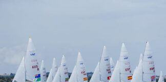 Segundo dia de regatas do Mundial de Classes da World Sailing! Geison e Gustavo ...