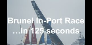 The Brunel In-Port Race The Hague ...in 125 seconds | Volvo Ocean Race