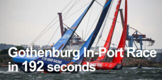 Volvo Ocean Race Gothenburg In-Port Race in 192 seconds | Volvo Ocean Race
