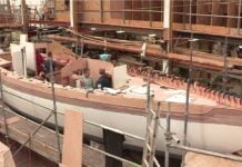 WOW...HYPNOTIC Video of Wooden Boat Build Process Modern Technology