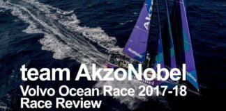 team AkzoNobel Race Review - Volvo Ocean Race 2017-18