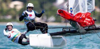 A dupla Samuel Albrecht e Gabriela Nicolino de Sá se classificou para os Jogos P...