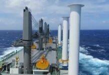 a MV Afros | ANEMOI Flettner Rotor System | Reduce Fuel Consumption
