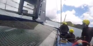 a They hit 47.2 knots in this video...