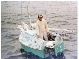 "Do Outro Lado do Atlântico e do Pacífico!!!   Gerry Spiess e o ""Yankee Girl"", Ve..."