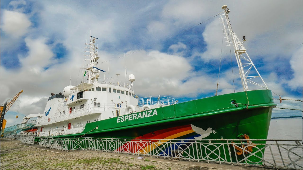 Como FUNCIONA um NAVIO do Greenpeace #Boravê com Mari Fulfaro 🔵Manual do Mundo 1