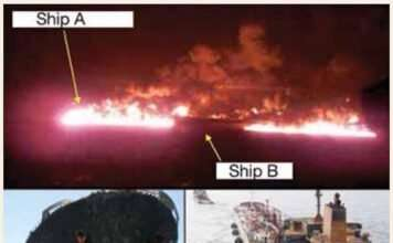 Real Life Accident: Collision Leads To Massive Explosion, Kills Nine Crew Members