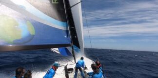 a Downwind speed with TP 52 Paprec Recyclage ! ❤️
