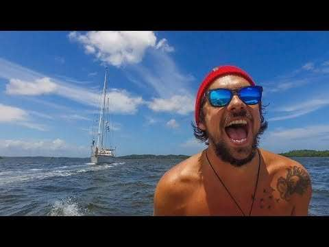 UNCHARTED Rivers of Brazil! Sailing Vessel Delos Ep.187