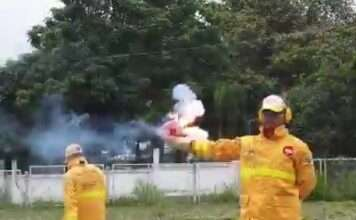 a Automatic Fire ? Extinguisher Ball