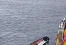 a Supply Boat Capsizing