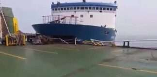 a Collision Between two Vessels