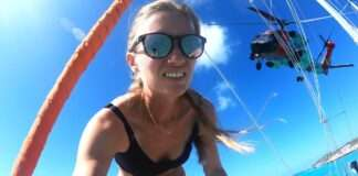 Buzzed by the US COASTGUARD chopper! - Sailing Vessel Delos Ep. 278 - SV Delos